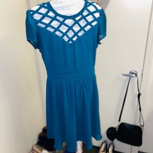 petite Swing Dress